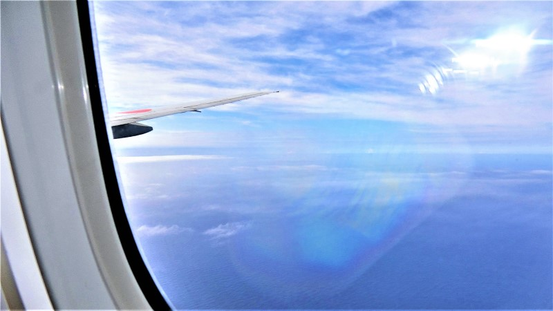 JAL便でハワイ