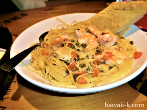 海老のスパゲッティ