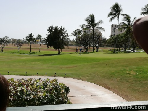 コオリナのゴルフ場