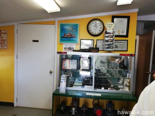 ハワイアンレールウエイのオフィス