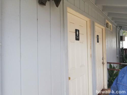 テッズベーカリー トイレ