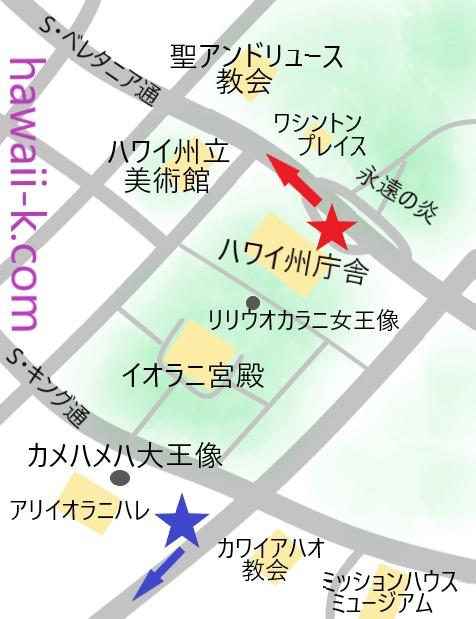 ダウンタウン歴史地区オリジナル地図