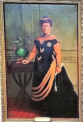 カピオラニ王妃の肖像画