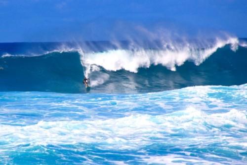 ノースショアの大波